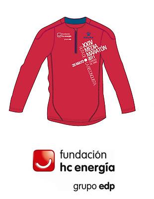 """XXIV Media Maratón """"Ruta de la Reconquista"""" (Cangas de Onís, Asturias) Camisa_hc_energia_media_reconquista_2011"""